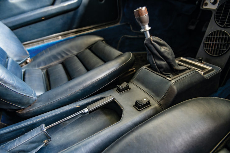 Lamborghini Urraco Console