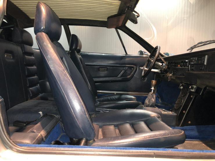 Lamborghini Urraco Interior