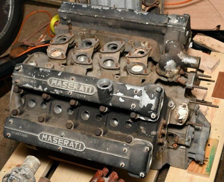 Maserati 4.2 Litre V8 Mexico Engine 1