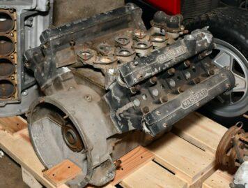Maserati 4.2 Litre V8 Mexico Engine