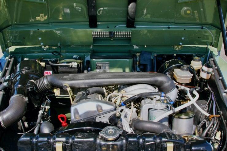 Mercedes-Benz G-Wagen Engine