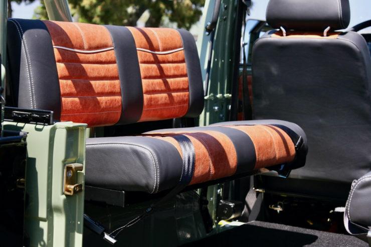 Mercedes-Benz G-Wagen Rear Seat