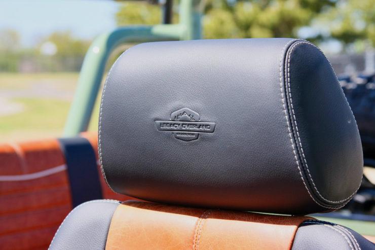 Mercedes-Benz G-Wagen Seat