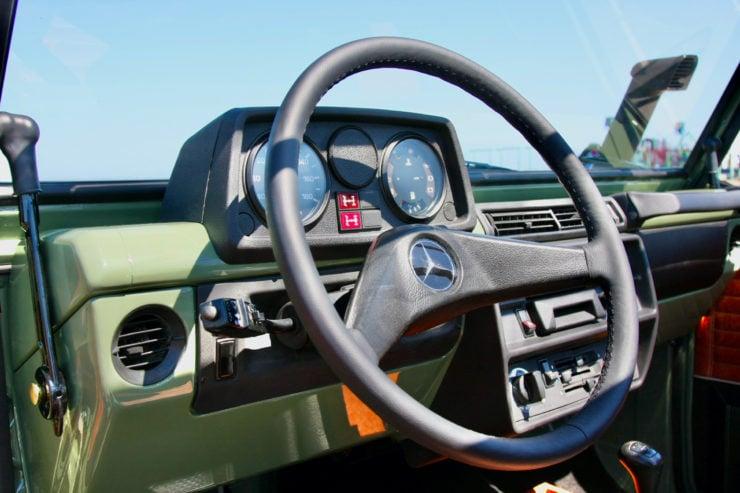 Mercedes-Benz G-Wagen Steering Wheel