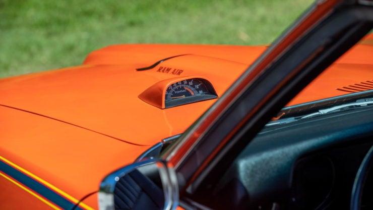 Pontiac GTO Judge Hood Tachometer