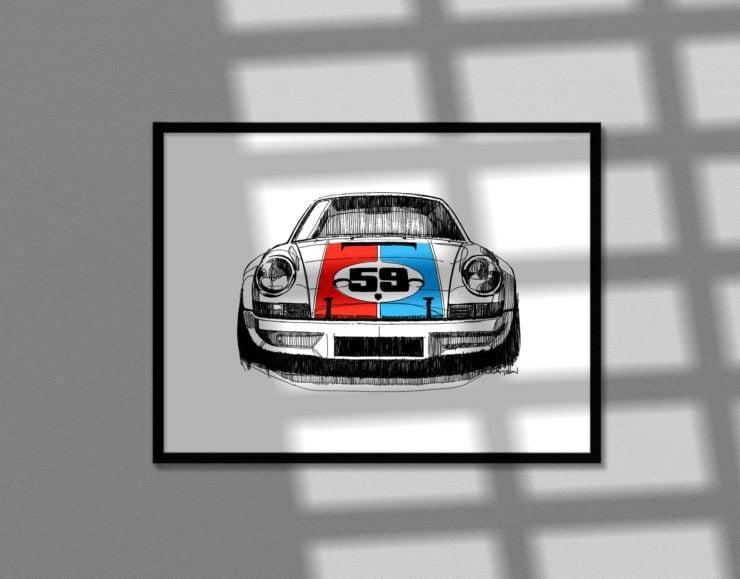 Porsche 911 Poster 1
