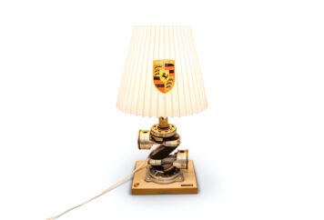 Porsche Miniature Crankshaft Lamp