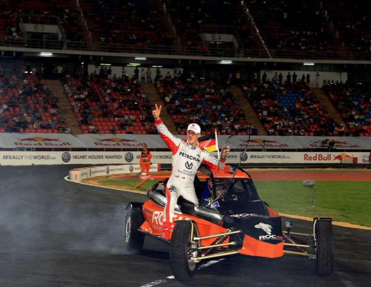 Race Of Champions Buggy Schumacher Vettel