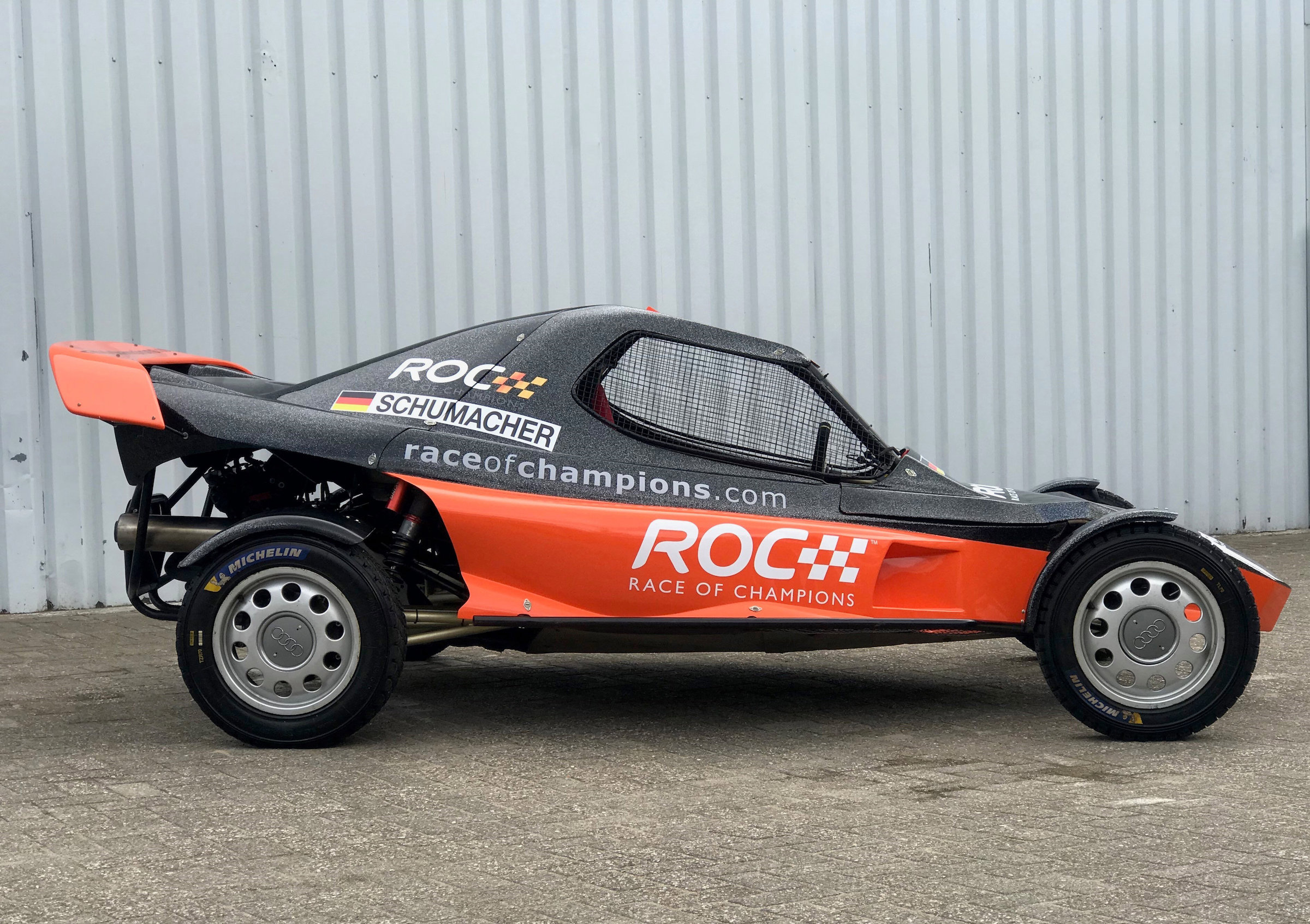 For Sale The Race Of Champions Buggy Driven By Michael Schumacher Sebastian Vettel