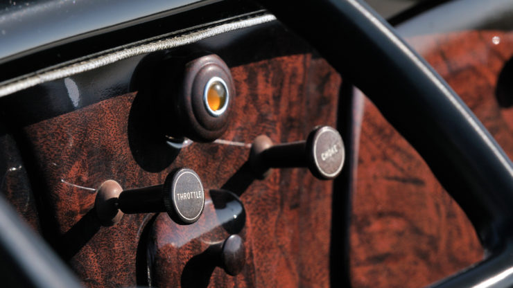 1933 Ford Roadster Elgin National Road Race Car Dashboard