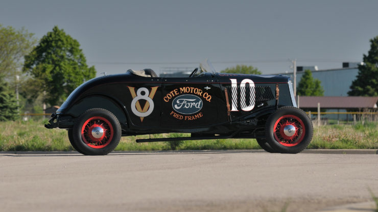 1933 Ford Roadster Elgin National Road Race Car Side 2