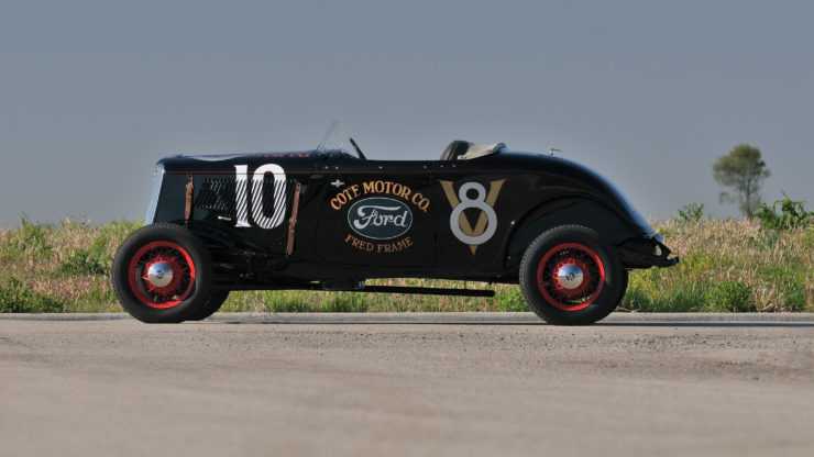 1933 Ford Roadster Elgin National Road Race Car Side