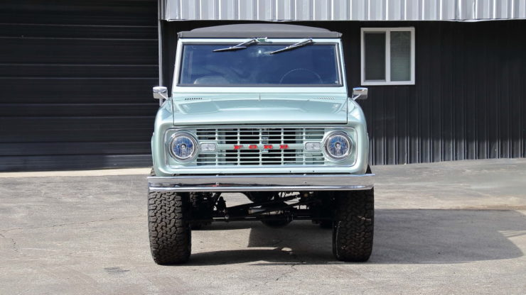 1969 Ford Bronco Front