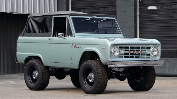 1969 Ford Bronco Grille