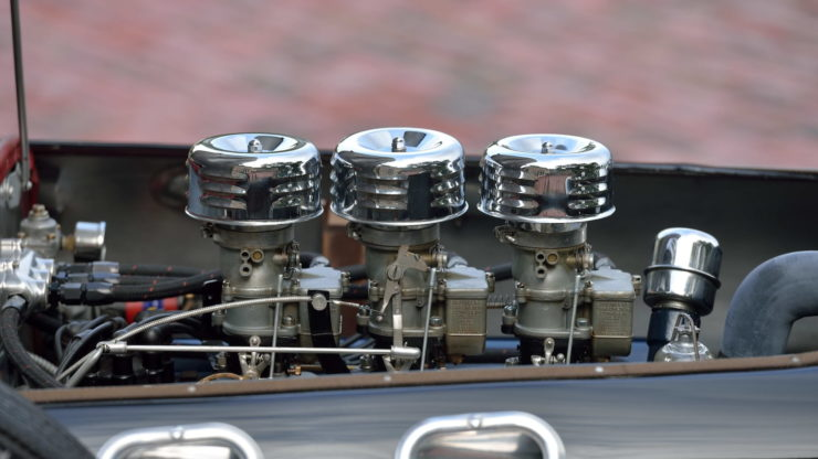 Allard J2 Car Carburettors