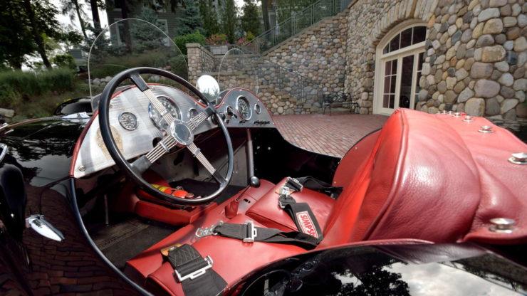 Allard J2 Car Interior