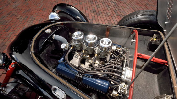 Allard J2 Car V8 Engine