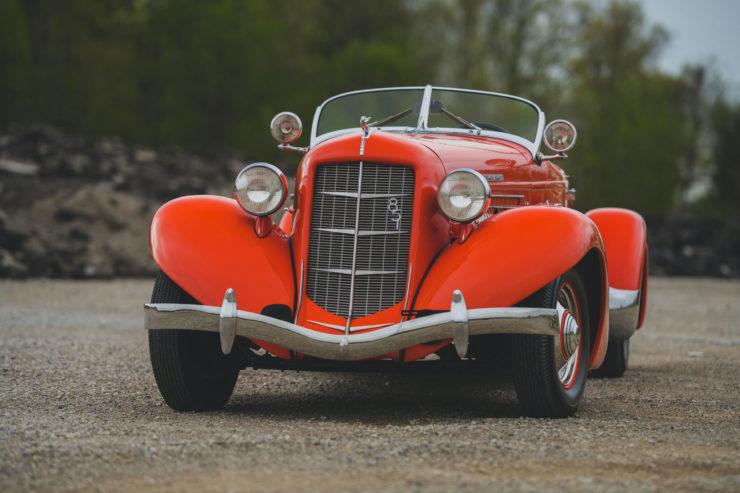 Auburn Boattail Speedster Front
