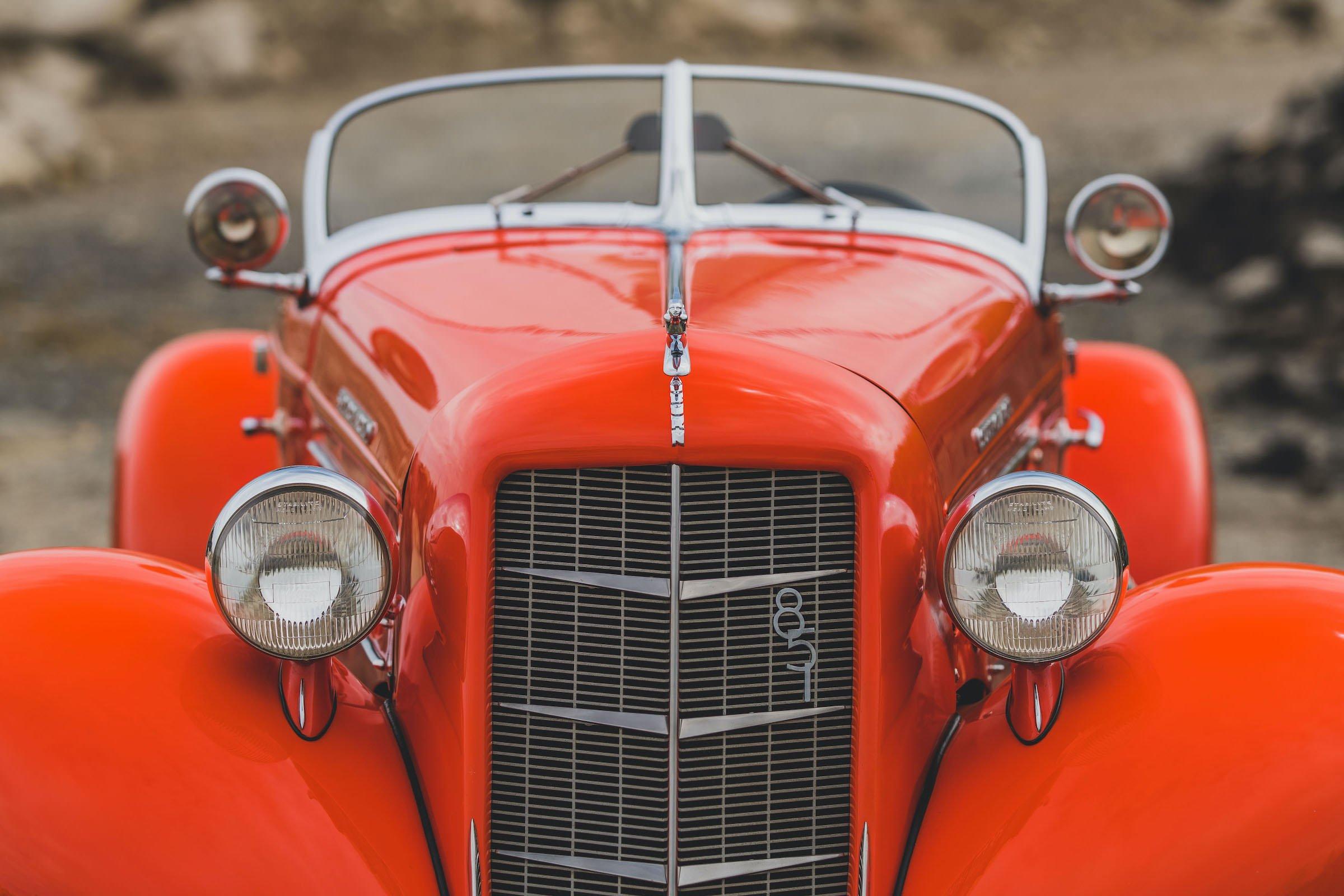 Auburn Boattail Speedster Headlights