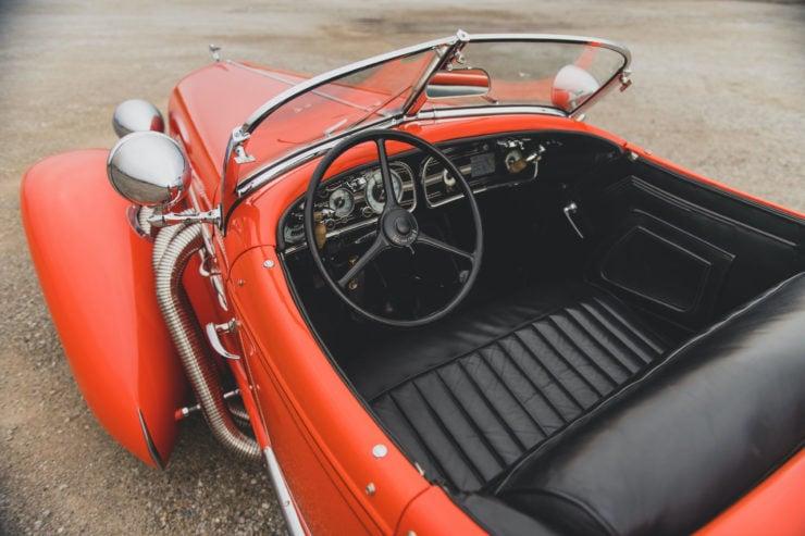 Auburn Boattail Speedster Seats