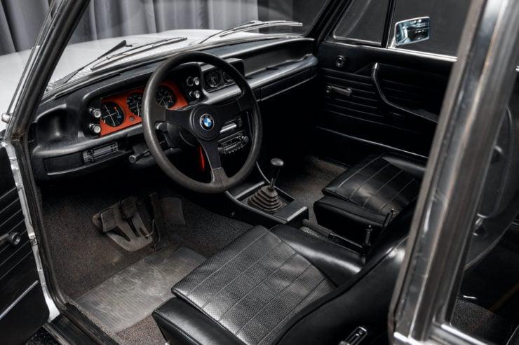 BMW 2002 Turbo Interior