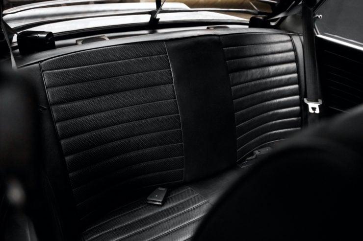 BMW 2002 Turbo Rear Seats