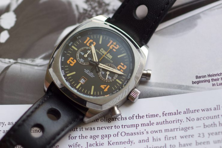Can-Am Chronograph by Omologato 7