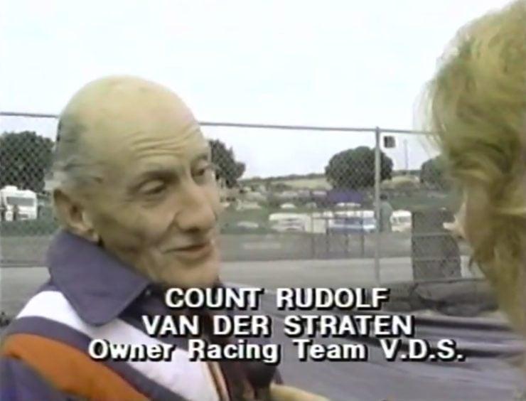 Count Rudolf Van Der Straten