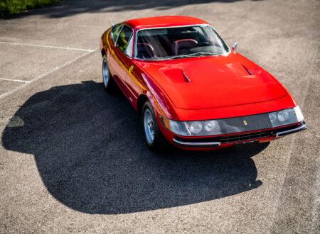 Ferrari Daytona Overhead