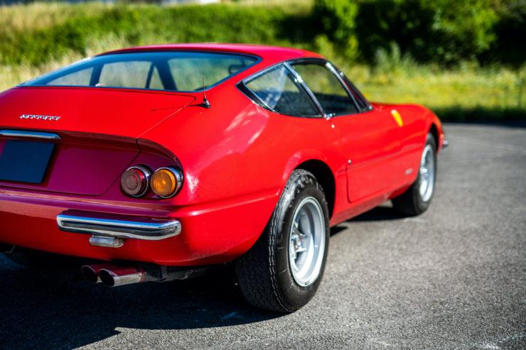 Ferrari Daytona Rear