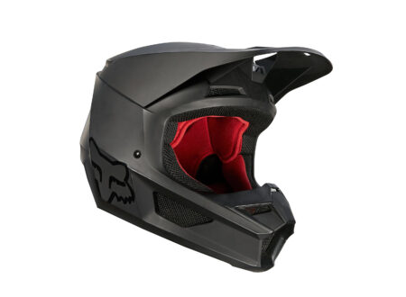 Fox Racing V1 Matte Helmet Side