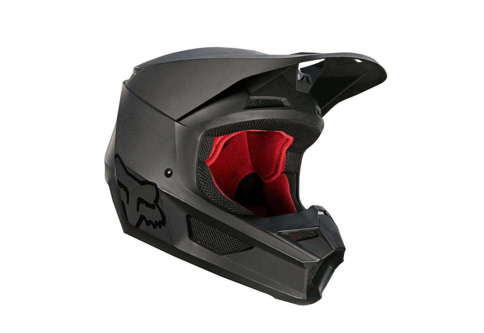 Fox Racing V1 Matte Helmet Side