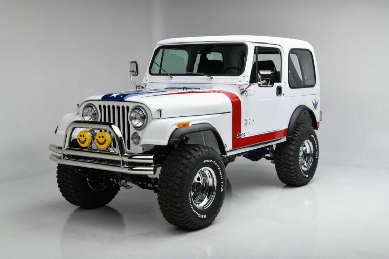 The $1.3 Million Dollar Jeep CJ7 From Gas Monkey Garage Is For Sale