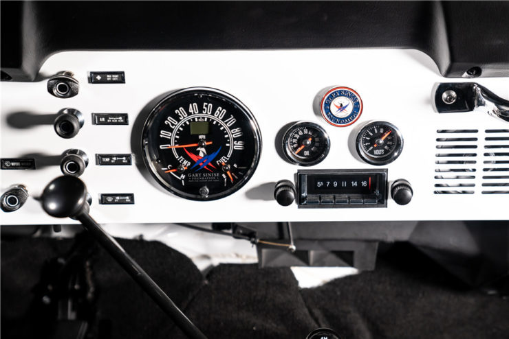 Gas Monkey Garage Jeep CJ7 Gauges