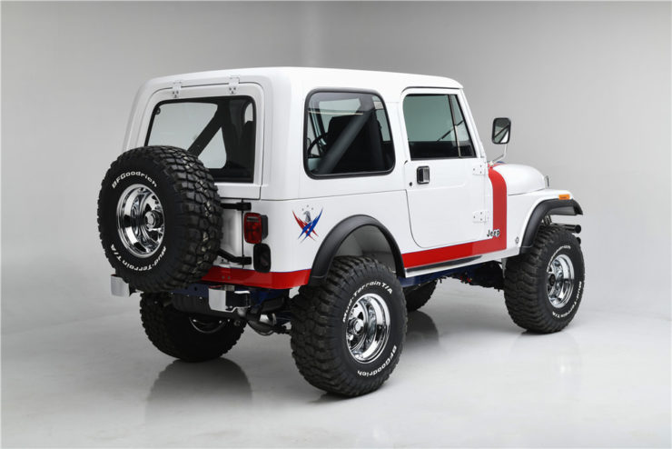 Gas Monkey Garage Jeep CJ7 Rear
