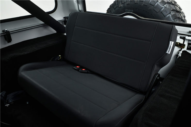 Gas Monkey Garage Jeep CJ7 Rear Seats