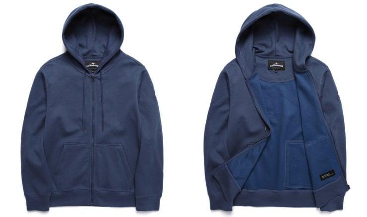 Gullinbursti Kevlar Original Zip-Up Hoodie Blue
