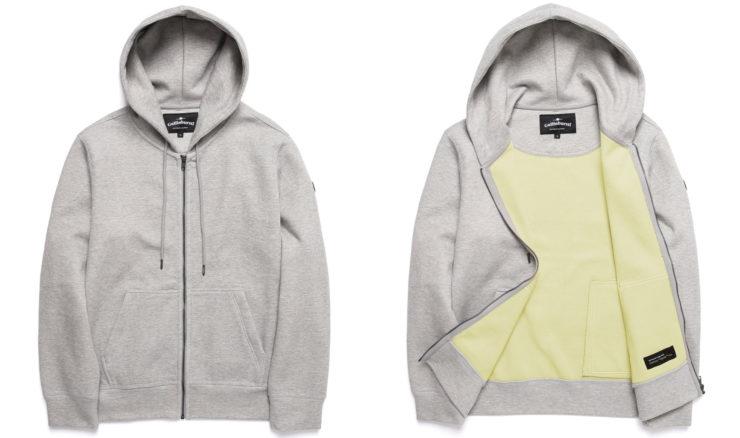 Gullinbursti Kevlar Original Zip-Up Hoodie Grey