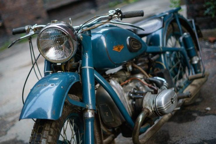 IMZ M-61 Soviet Motorcycle 1
