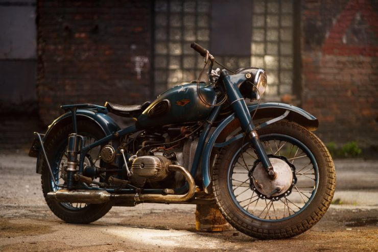 IMZ M-61 Soviet Motorcycle 13