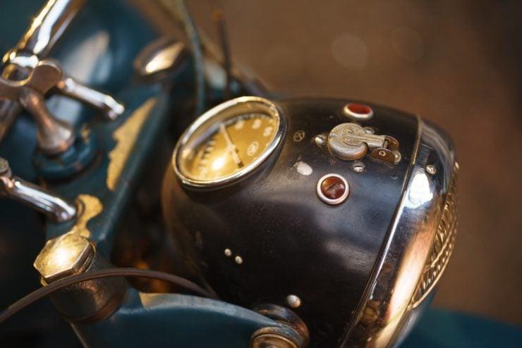 IMZ M-61 Soviet Motorcycle 14