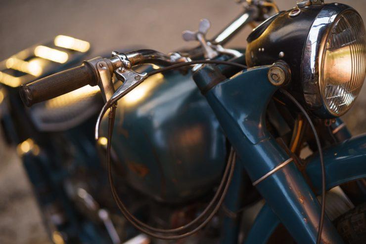 IMZ M-61 Soviet Motorcycle 15