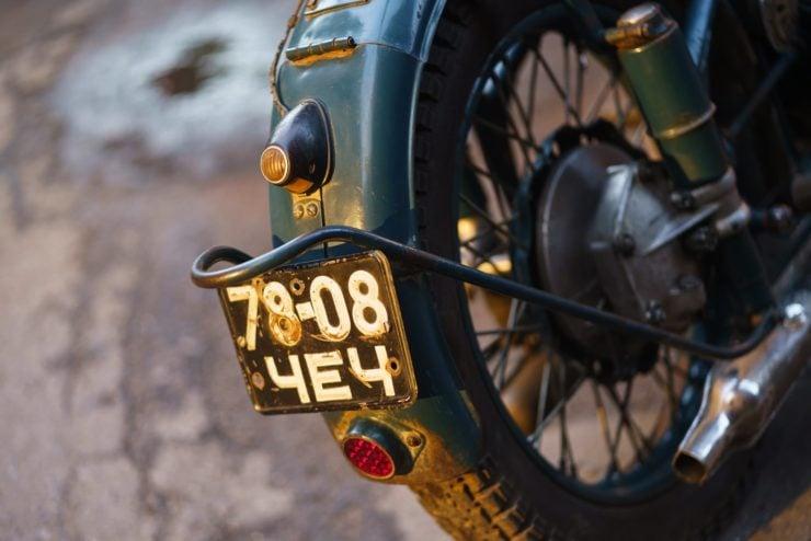 IMZ M-61 Soviet Motorcycle 19