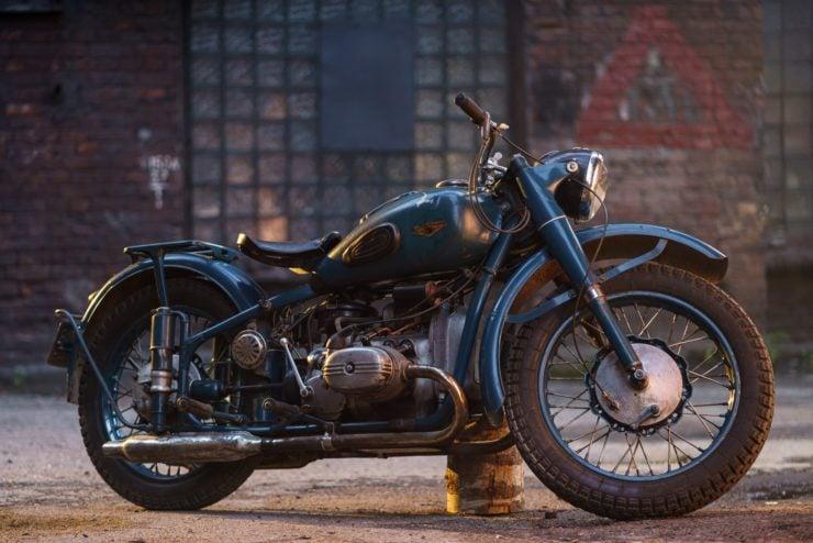 IMZ M-61 Soviet Motorcycle 20