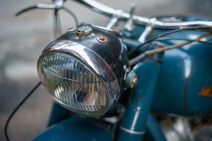 IMZ M-61 Soviet Motorcycle 3