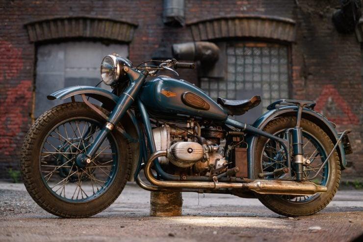 IMZ M-61 Soviet Motorcycle 4