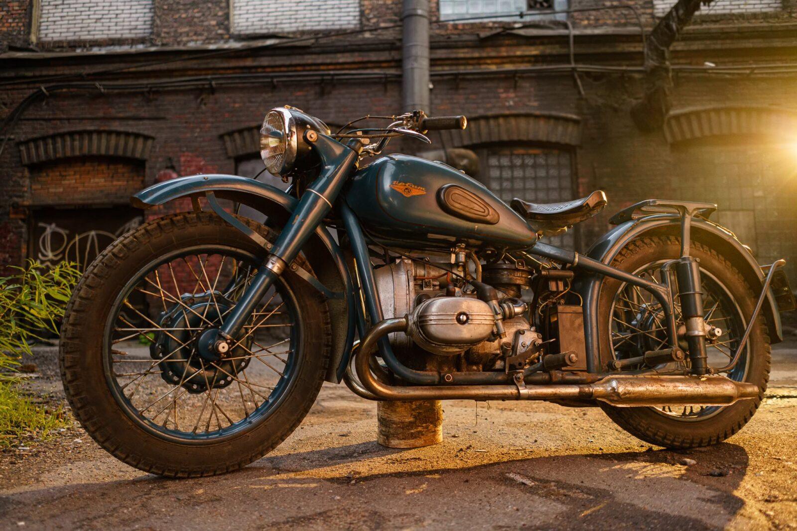 IMZ M-61 Soviet Motorcycle 7
