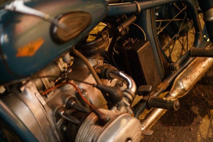 IMZ M-61 Soviet Motorcycle 9