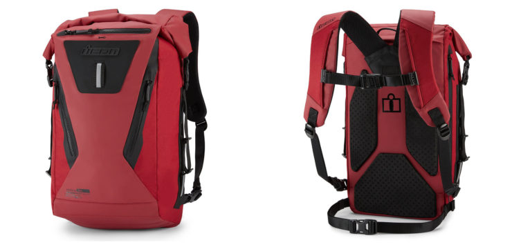 Icon Dreadnaught Backpack Red