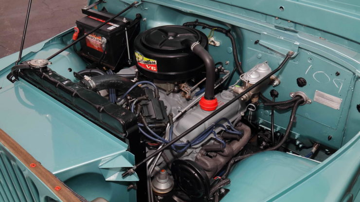 Jeepster Commando Engine